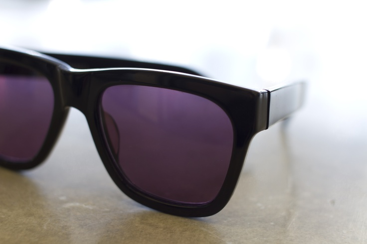 Tinted glasses help conceal your tears. #slowdown