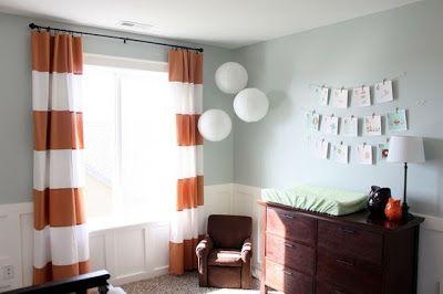 cortinas hermosas living rayadas - Buscar con Google