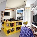 Salas pequenas: 12 ideias para fazer o espaço render