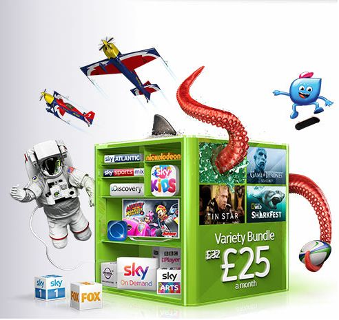Sky Packages from £25 a month! - What Have You Seen & Where - Powered By Spotted Bargains