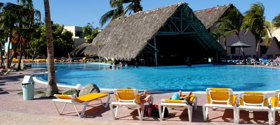 Hotel Brisas Santa Lucia is located on right on the beach and less than 1 km from the longest barrier reef in #Cuba and the world's second largest called Jardines del Rey http://cubasantalucia.com