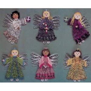 Lake City Craft Quilling Kit - 6PK/Christmas Angels (Kitchen)   http://postteenageliving.com/amazon.php?p=B0013JLI2Q