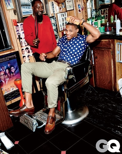 Russell Westbrook for GQ