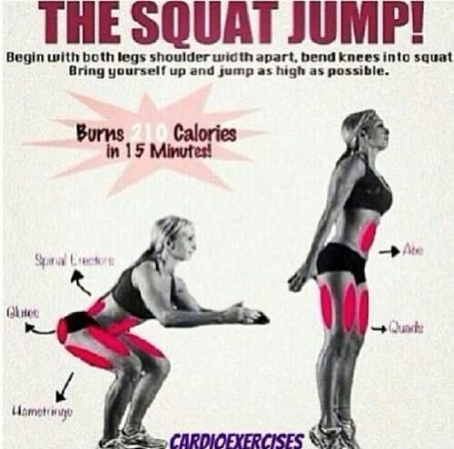 The Squat Jump - For a PERRFEECT ASS!