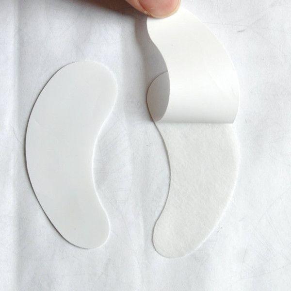 Ciglia finte innesto eye patch lint gel occhio libero patch per eye lash extension