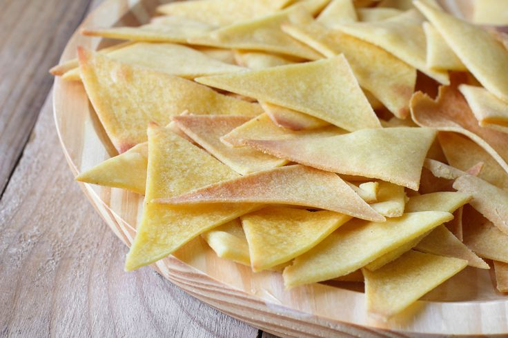 Store-bought tortilla chips are often fried and overly salted. Try this delicious, easy to make alternative! You can even spice them up to taste with paprika, curry powder, or rosemary!
