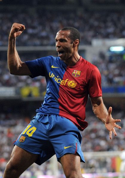 Thierry Henry is one of my favorite players considering he played into both Arsenal and FC Barcelona which are my two favorite teams.