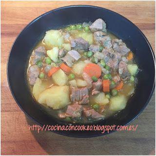 """""""Cocina con Cookeo"""": Estofado de pavo"""