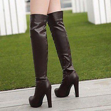 MissBoot Damenschuhe runde Kappe Blockabsatz über das Knie Stiefel mehr Farben erhältlich - http://on-line-kaufen.de/missboot/missboot-damenschuhe-runde-kappe-blockabsatz-4