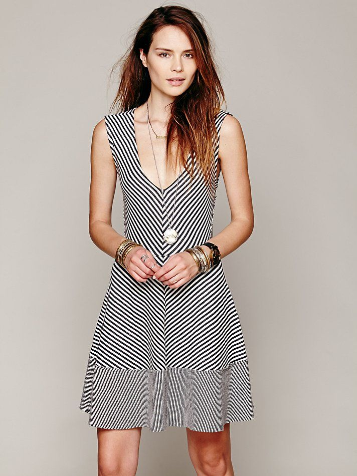 Free People Say It With Stripes Fit N Flare http://www.freepeople.com/whats-new/say-it-with-stripes-fit-n-flare/