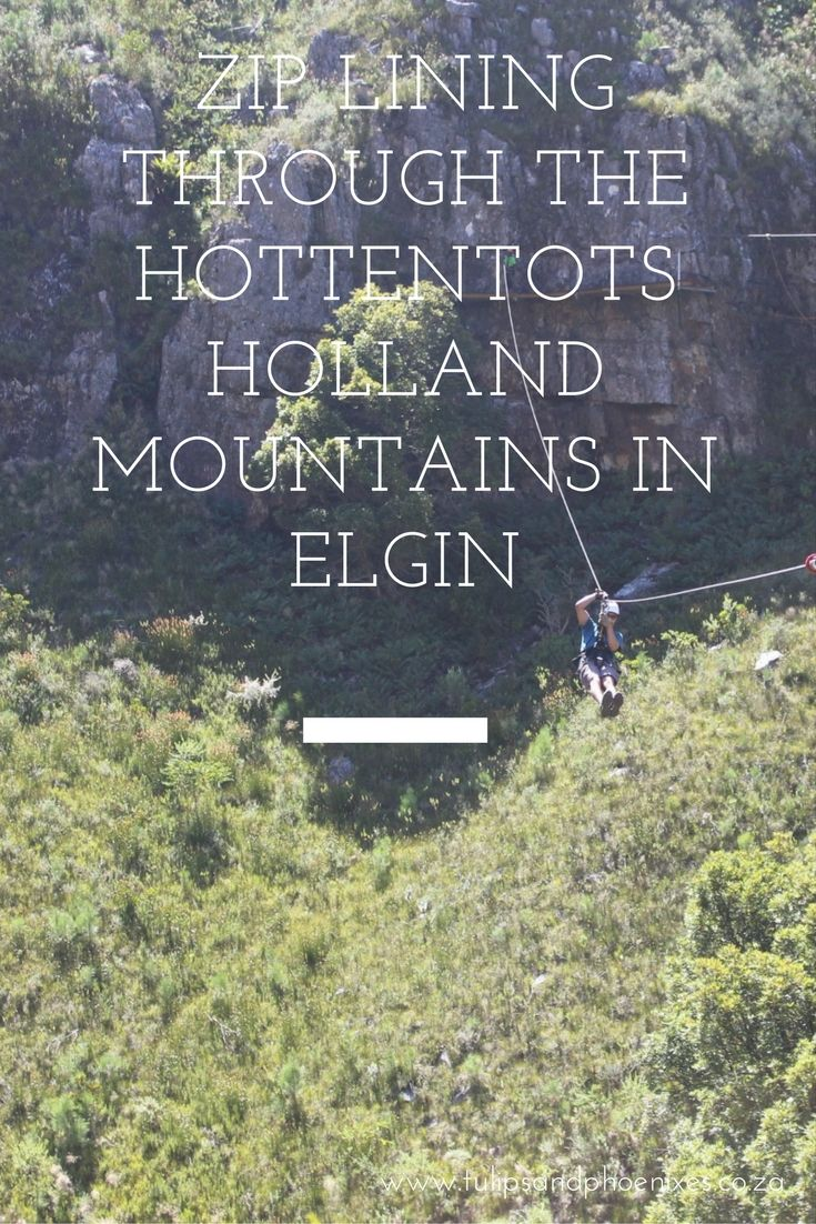 Overcome your fear of heights with a zip lining adventure! Zip lining in Elgin Western Cape, South Africa with Cape Canopy Tours certainly made me deal with my fear of heights. Click to read more about soaring with the birds and spotting secret waterfalls!