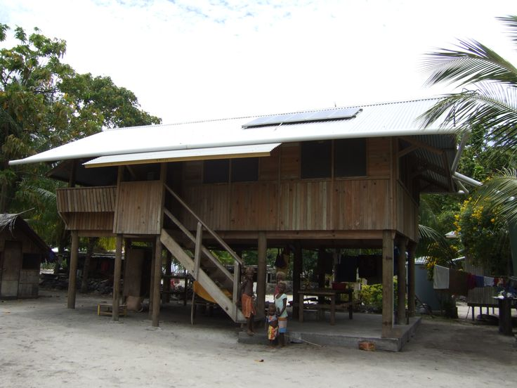New relocation housing, Lihir Island, Papua New Guinea, by Assai
