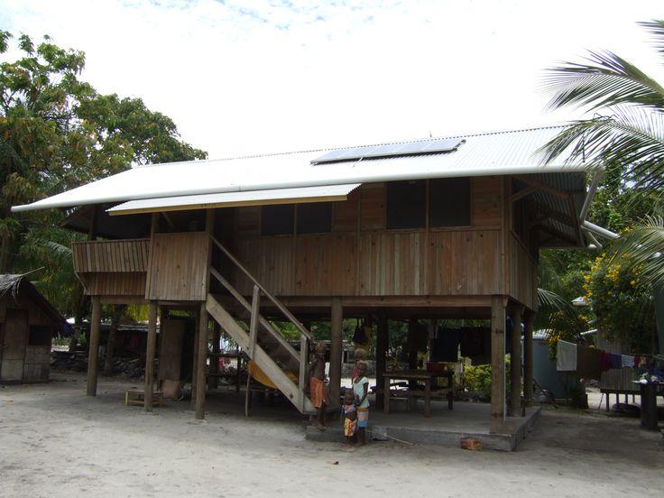 New relocation housing, Lihir Island, Papua New Guinea, by Assai