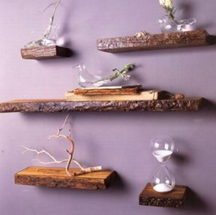 30+ DIY Rustic Decor Ideas using Logs