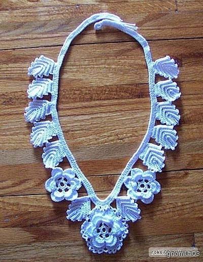 jewelry crochet pattern ~ make handmade - handmade - handicraft
