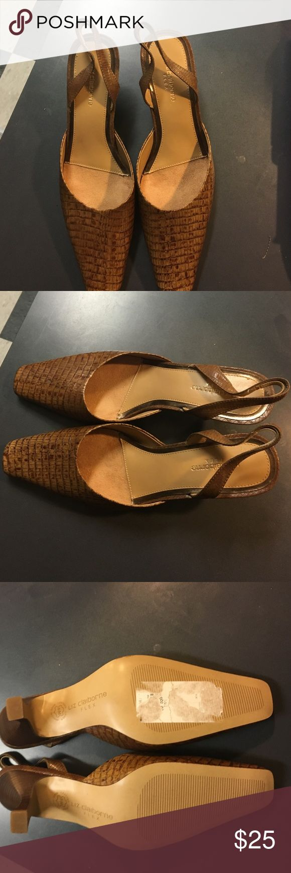 Liz Claiborne flex Liz Claiborne women heels Shoes Heels