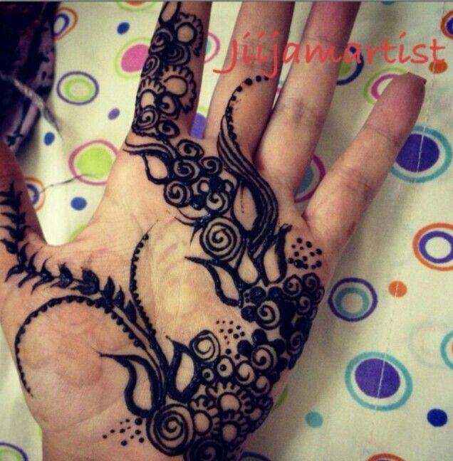 Black Khaleeji Design Henna Tattoos Henna Mehndi Henna Designs