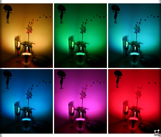 ambience with livingcolors by philips - Philips Lampe Living Colors