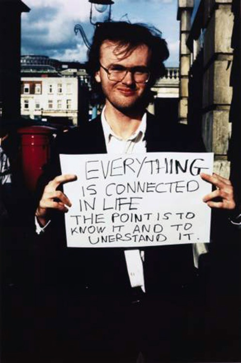 Gillian Wearing - Signs that Say What You Want Them to Say and Not Signs that Say What Someone Else Wants You to Say, 1992-1993
