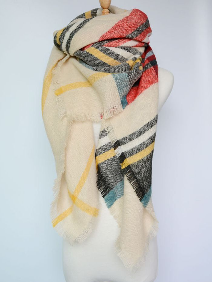 Cashmere Silk Scarf - SWANK AND SOPHISTICATION by VIDA VIDA pOrVFPm0q2