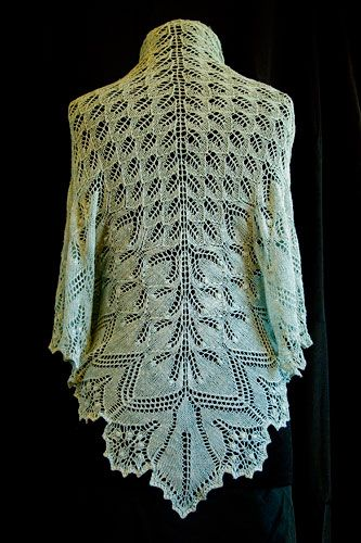 Aeolian Shawl – #lace #knitting #free #pattern