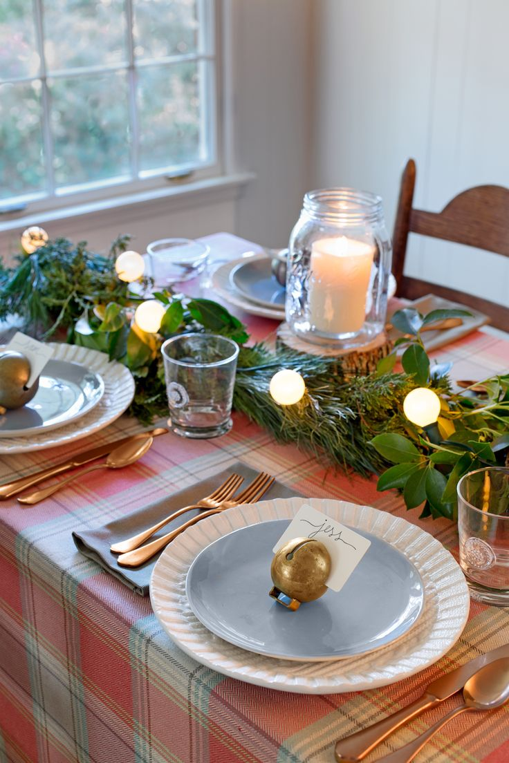 Country christmas table decoration ideas - Country Christmas Table Decoration Ideas
