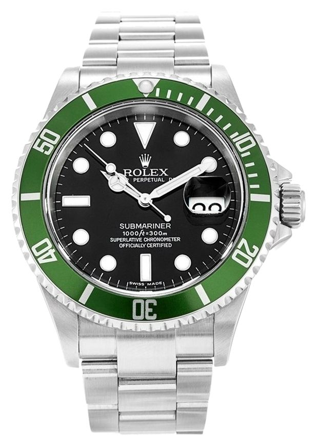 ROLEX GREEN SUBMARINER 16610T STAINLESS STEEL MEN'S WATCH. Get the lowest price on ROLEX GREEN SUBMARINER 16610T STAINLESS STEEL MEN'S WATCH and other fabulous designer clothing and accessories! Shop Tradesy now