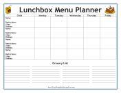 diabetic menu planner