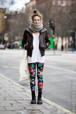 Floral tights: Dream Closet, Floral Leggings, Clothes, Street Style, Outfit, Floral Tights, Fashion Inspiration