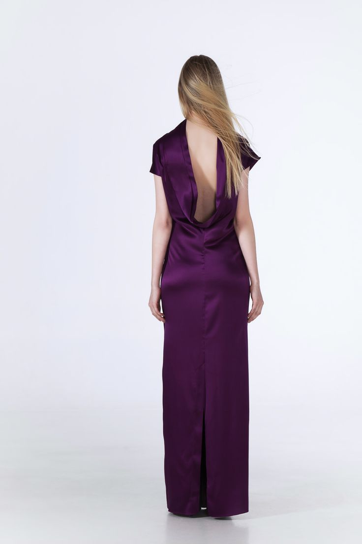 Susan Gown back