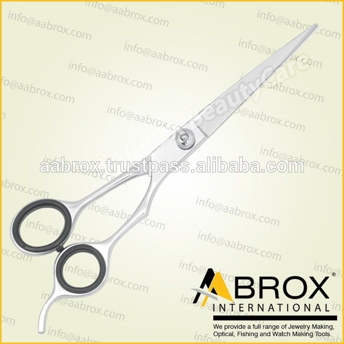 "Model Number: MPS-98602, Dog Grooming Scissors Pets Grooming Scissors, Razor edge, Adjustable Screw Type (A), With comfortable finger rings, Steel 440c, Available in Sizes: 6.5"" and 7.5""."