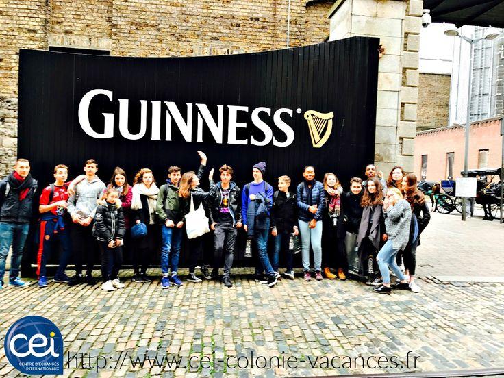 Colonie en Irlande #Guinness #Visite #Colonie #Vacances #Irlande