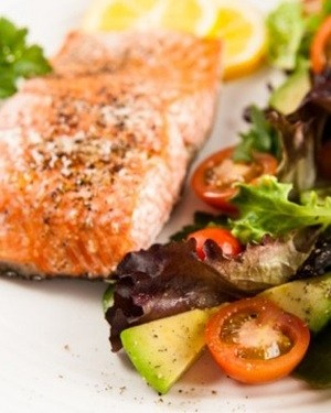 Pete Evans Slow-Roasted Salmon with Cucumber Spaghetti - Weigh It Up