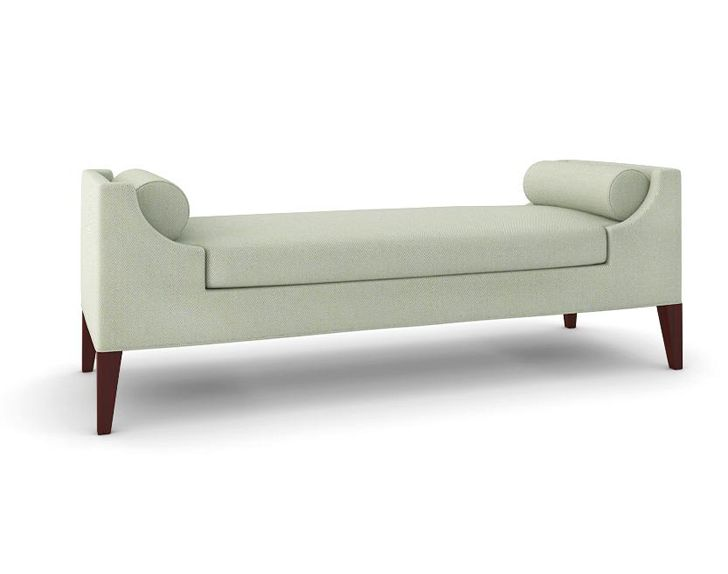 Buy The Reese Bench  by McGill Design Group/Plum Furniture - Made-to-Order designer Furniture from Dering Hall's collection of Mid-Century / Modern Traditional Transitional Benches.
