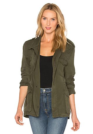 Etienne Marcel Military Jacket in Military | REVOLVE