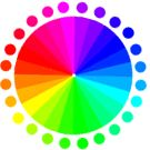 Subtractive Color/Additive Color explanation. Difference between monitor and printing colors. http://en.wikipedia.org/wiki/Primary_colors
