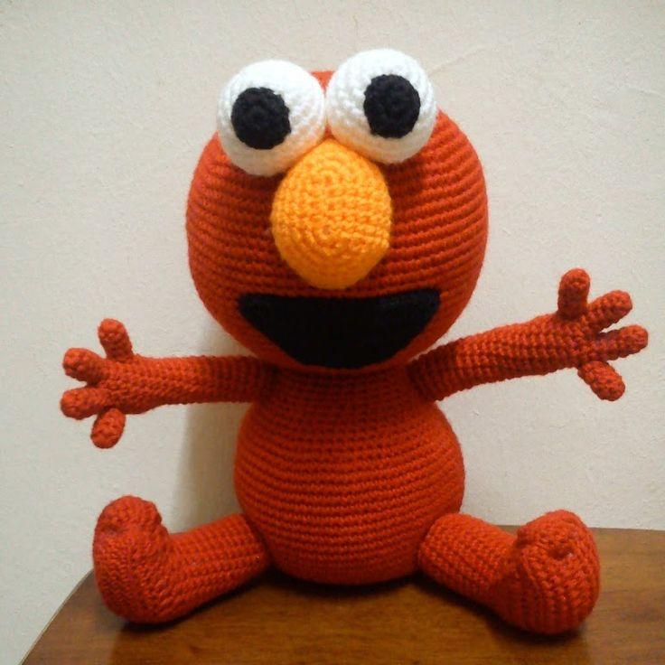 Amigurumi Crochet Definition : Mas de 1000 ideas sobre Elmo Doll en Pinterest Felpa ...