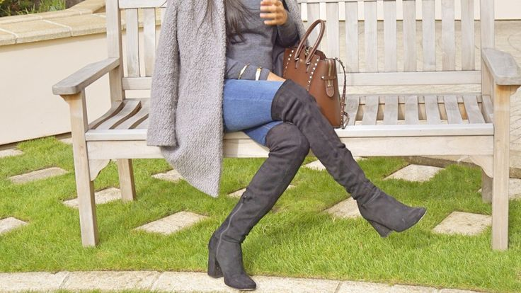 Pregnancy blues of a Fashionista momma in a Kurt geiger boots.