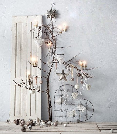 Natale, stelle e casette di legno - Raw Ideas