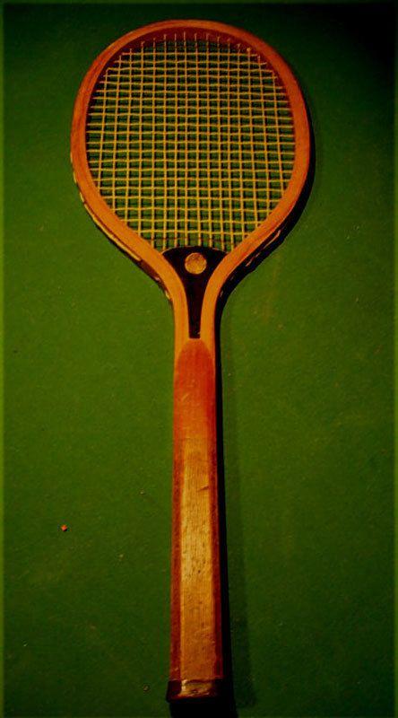 Harvard tennis racket