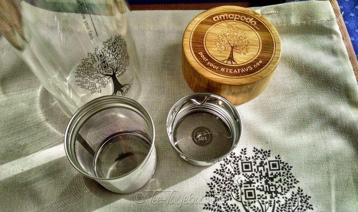 Kurztest: amapodo Teebereiter #TEAFAVS Thermo-Teeglas · Tee-Tagebuch.de