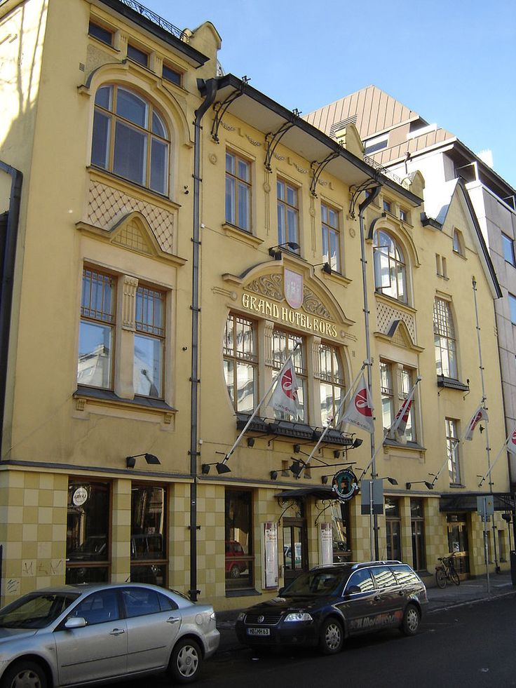 Hotel b rs 1894 architecture in turku the oldest city for Hotel turku