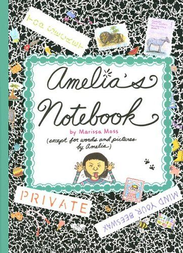 """""""Amelia's Notebook"""" by Marissa Moss  Great for elementary aged children (esp. girls). Good discussion about #moving"""