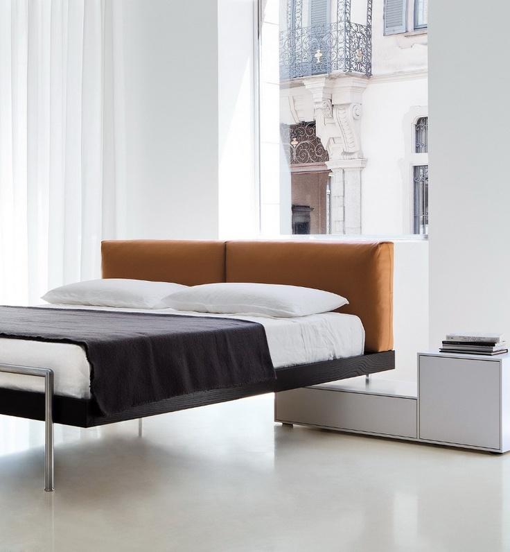 Double #bed SHIN by Porro | #design Piero Lissoni #bedroom