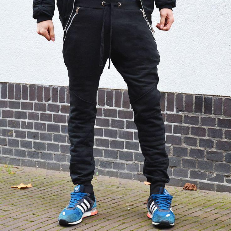 Padded sweatpants black €24,99 http://mymenfashion.com/padded-sweatpants-black.html