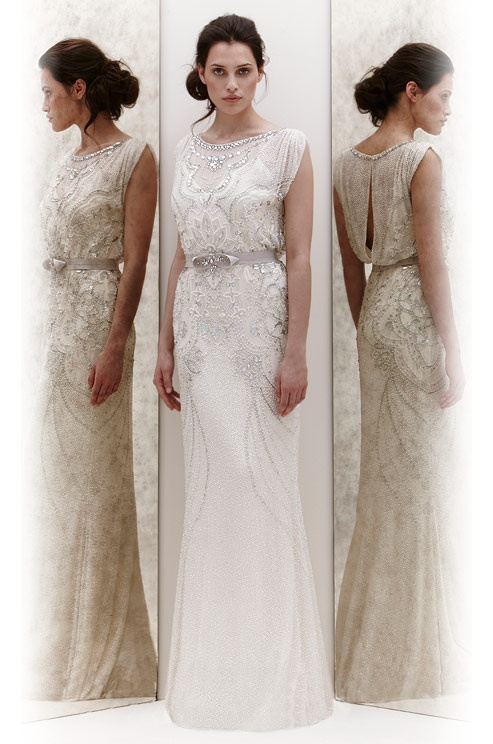 Jenny Packham beaded wedding dress, Spring 2013