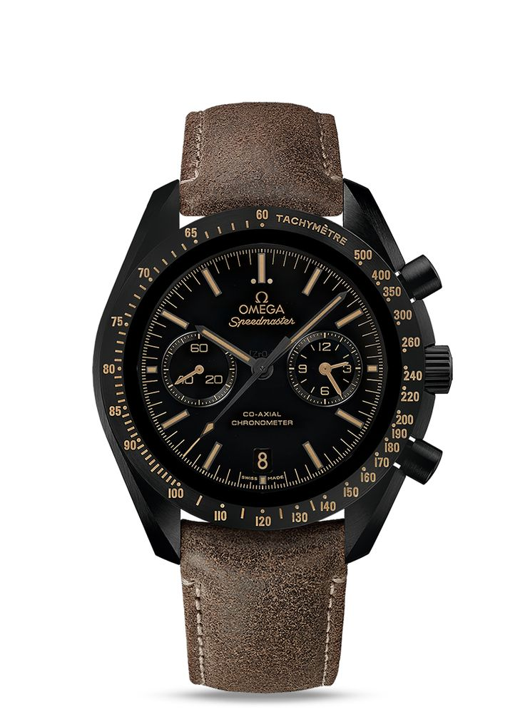 MOONWATCH OMEGA CO-AXIAL CHRONOGRAPH 44,25 MM Vintage Black