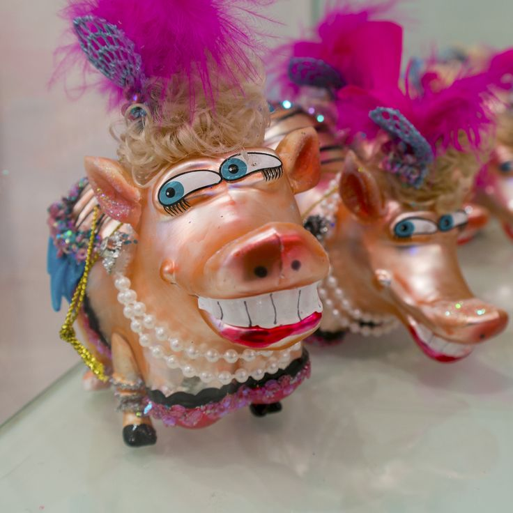 Dressed ud pigs and piglets - Christmas 2015