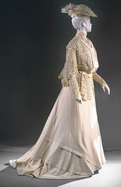philadelphia museum of art dress details | ... Gimbel Brothers day dress ca. 1904 From the Philadelphia Museum of Art