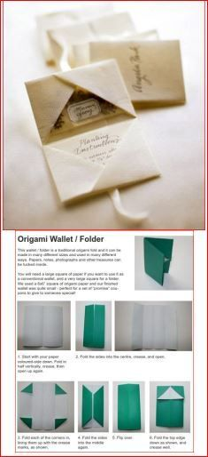 Favor idea on Martha Stewart: Handmade origami packets w/ seeds in one side & planting instructions in the other, but no directions. Although size is not necessarily correct, instructions for the folding found at  http://www.activityvillage.co.uk/origami-wallet